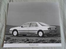 Peugeot 605 Press Photo c1990's v2