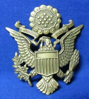 Pre-WWII 1920s to 1930s Army Air Corps Officer Hat Badge