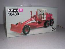 "Kibri #10430 O & K 16-8 Road Grader ""Red & White Kit H.O. 1/87"