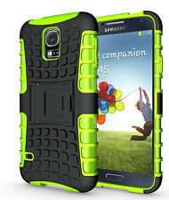 Green Case Cover Stand for Samsung Galaxy S5 Heavy Duty Strong Durable Tough