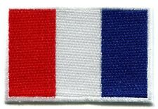 Flag of France French Tricolour embroidered applique iron-on patch Small S-98