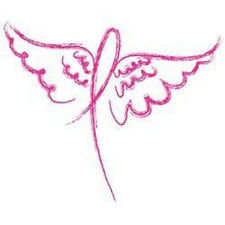 Wings Ribbon Breast Cancer Awareness T-shirt All Sizes & Colors New (518)