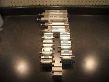 Festo Cylinders Lot of 12 Various Cylinders. Used. Dnc-40-50-Ppv-A And More!