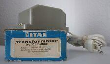 TITAN TRASFORMATORE TIPO 301 BATTERIA Transformer illuminazione bambole Tube Natale mangiatoia