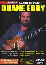 LICK LIBRARY Learn to Play DUANE EDDY Tutor REBEL ROUSER NEW Electric Guitar DVD