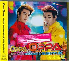 DONGHAE & EUNHYUK Oppa [CD+DVD]+1 Card New Sealed Super Junior M