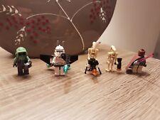 Lego Star Wars Figuren 7261 Scout Trooper Kashyyyk Mace Windu Light up