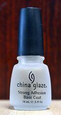 China Glaze Strong Adhesion Base Coat, Brand New. Free Shipping