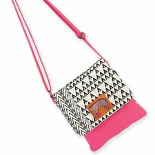 Laurel Burch Bohemian Whiskers Cats Flap Over Small Crossbody Purse Handbag