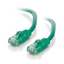 GREEN CAT 5E Shielded Snagless 10gb RJ45 LAN Networking Ethernet Patch Cable 1m