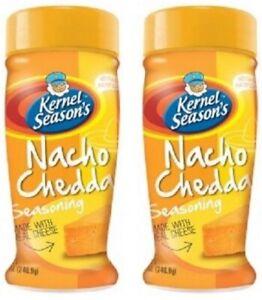Kernel Season's All Natural Popcorn Seasoning Nacho Cheddar Bottle 2 Pack