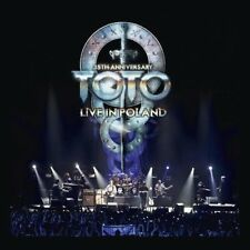 TOTO-35TH ANNIVERSARY TOUR-LIVE IN POLAND LIMITED  EDITION 4 VINYL LP+CD NEUF