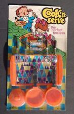 Vtg 1960's Day-Fran (Cook'n Serve) Kids Play Toy Utensils Serving Set NOS