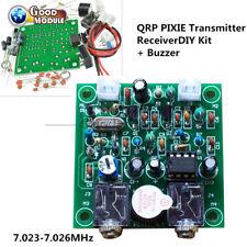 Ham Radio 40M Cw Shortwave Qrp Pixie Transmitter Receiver 7.023-7.026Mhz Diy