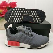 Adidas NMD R1 Grey Red BD7730 Size 9.5