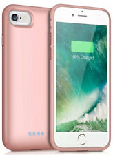External Battery Case For iPhone 6 / 6S Rose Gold 3.5 Hours Additional Battery