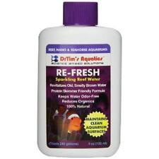 Dr. Tim's Aquatics Re-Fresh Reef Pure 4oz Sparkling Water Saltwater Aquarium NEW