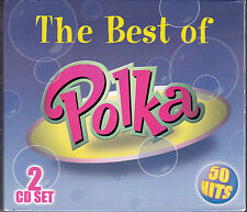 COFFRET 2 CDs 50T BEST OF POLKA JIMMY STURR/FRANKIE YANKOVIC/MYRON FLOREN...