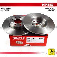 2X Mintex Anteriore Dischi dei freni MDC1838 FIAT VAUXHALL CORSA Mk III D S07 1.0 (I 12V)