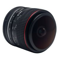 Meike 6.5mm F/2.0 Fisheye Lens Manual Focus Lens for Canon EF-M Mount Lens