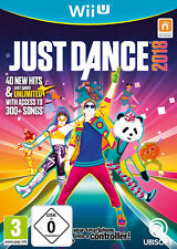 Nintendo Wii u juego - Just Dance 2018 ING en el embalaje usado