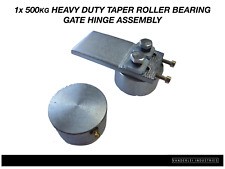 1x 500kg Heavy Duty Taper Roller Gate Hinge Assembly