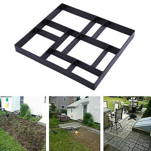 DIY Walk Maker mold Path Patios Paving Concrete Stepping Stone Mould Pavement