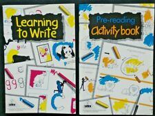 2 x Early Learning Centre  ELC Workbooks - Activity & Learning to Write Books