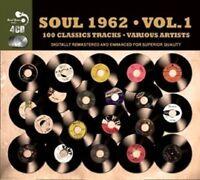SOUL 1962 4 CD NEW BOX-SET THE NUGGETS/JACKIE WILSON/SAM COOKE/CARLA THOMAS