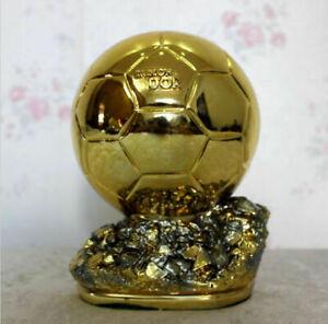 Resin Golden Ball 26cm FIFA Award Player the Year Ballon d'Or Football Gift