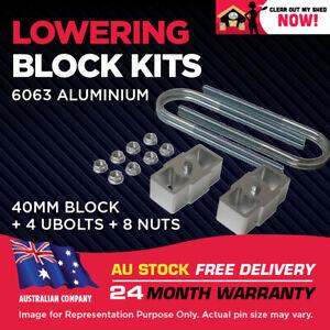 """Lowering Block Kit Ford Falcon EF EL AU BA BF BG UTE TRAY VAN WAGON 1.5"""" (40mm)"""