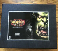 WARCRAFT 3 REIGN OF CHAOS COLLECTORS EDITION PC GAME SET - MISSING GAME DISC2002