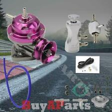 Purple Turbo Type-RS BOV Blow Off Valve + Silver Manual 30 PSI Boost Controller