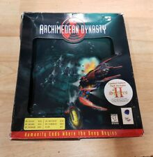Retro PC Game: Blue Byte: Archimedean Dynasty in Original Box  - 1996