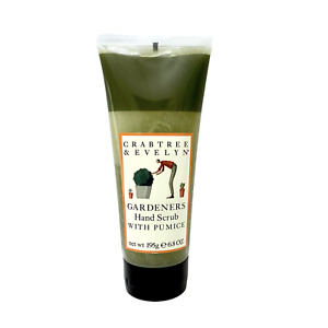 Crabtree & Evelyn Gardeners Hand Scrub with Pumice 6.8 oz NEW