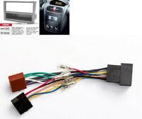 1DIN Radio Blende Set Kabel ISO passend für OPEL Vectra Corsa Astra Omega Agila