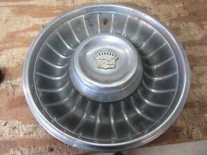 1961 Cadillac Fleetwood exterior wheel rim cup cap trim cover piece