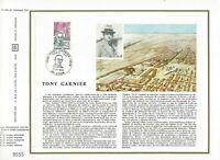 Foglio CEF 1er Giorno Francia Tony Garnier (IN Spagnolo) 1973