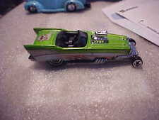 Hot Wheels Loose Treasure Hunt '57 Roadster with Real Riders On Back
