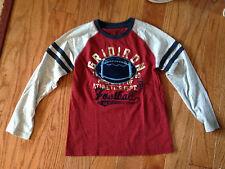 Sonoma Boy's L/S Shirt Sz L (7) Gridiron Football Shirt Stripes on Sleeves