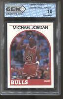 1989-90 Michael Jordan Hoops #200 Gem Mint 10 Chicago Bulls MVP HOF