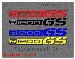 2x R 1200GS Aufkleber R1200 GS BMW Fahrer Bike Biker GS ADV Farbwahl BM087