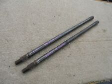 Salisbury Quaife Halfshafts 19 spline suit Historic rally car Chevette HSR