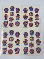 Vintage 1978 Hallmark Seal Reward Stickers (4 Sheets)