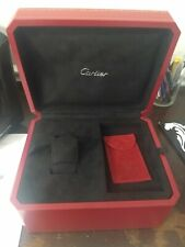 Cartier Roadster Large watch Box, , leather pouch and  Papers