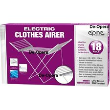 Electric Folding Clothes Drying Horse Rack Airer Dryer Washing Dry Laundry Stand