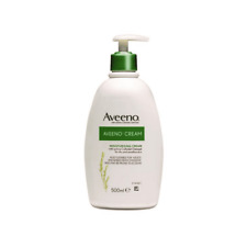 AVEENO MOISTURISING CREAM 500ml PUMP FOR ECZEMA & DRY SKIN CONDITIONS BNIB UK