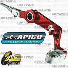Apico Red Rear Foot Brake Pedal Lever For Montesa 4RT 2005-2015 Trials Models