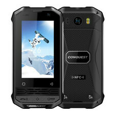 "Conquest F2 Luxury Mini 3"" Rugged Android Smartphone: Smallest Compact Mobile"