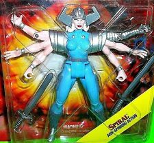 Marvel Comics SPIRAL Arm Spinning Action Figure ToyBiz RANDOM X-Men Trading Card